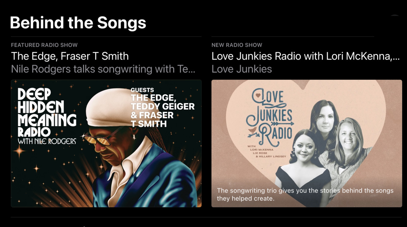 Apple Music's new Behind the Songs hub to spotlight writers, producers