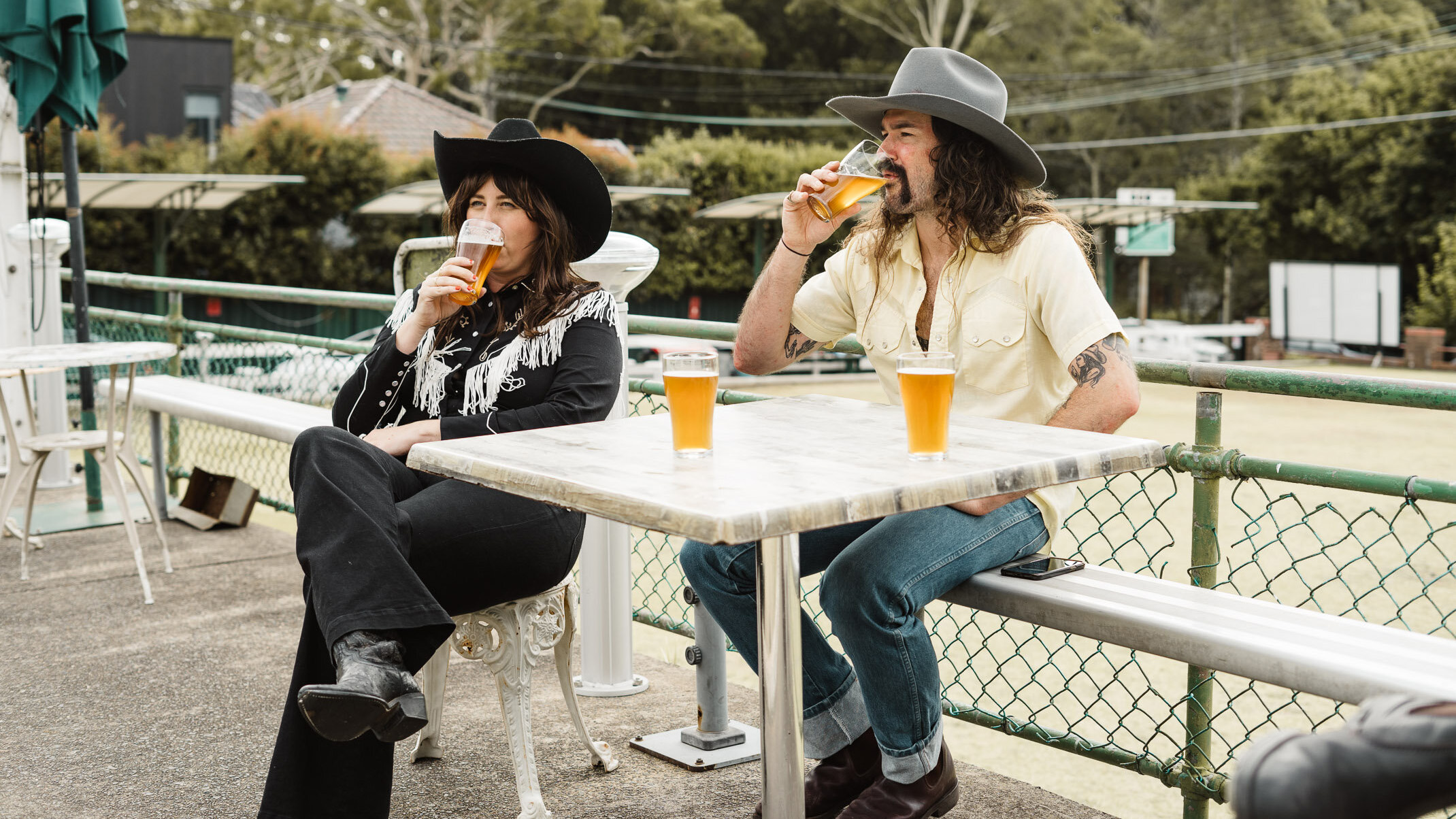 Caitlin Harnett and The Pony Boys release 'Bowlo Bitter' collaboration with Young Henrys