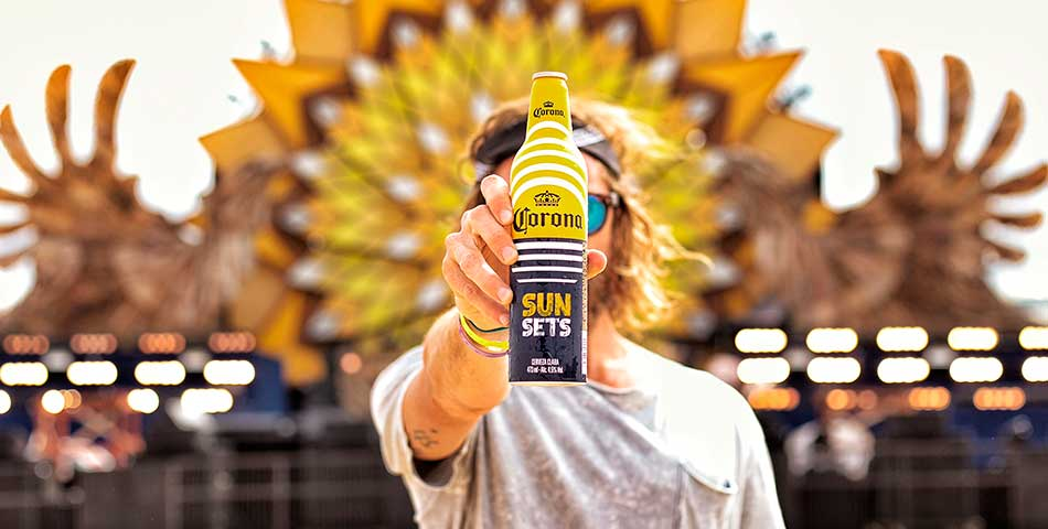 Corona is getting into the fezzy business with Sunsets Festival this December